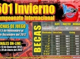 Imágen de la noticia: Ganadores del Campeonato Internacional 501 Invierno, categoría Regular