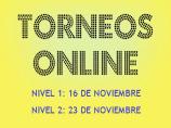 Imágen de la noticia: TORNEOS ONLINE DE NOVIEMBRE