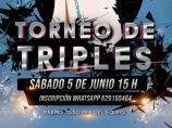 Imágen de la noticia: TORNEO DE TRIPLES 5 DE JUNIO